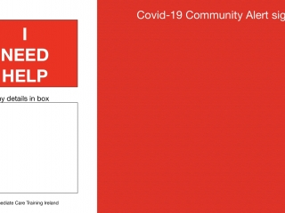 Covid-19 ALERT Signs