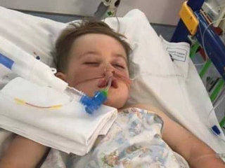 'It was the scariest three minutes of my life' - mum's warning after son almost died in peanut accident