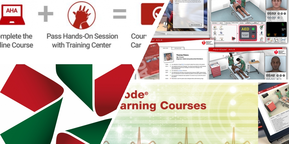 AHA Heartcode BLS course (This is the ONLINE part 1 only - Part 2 (skills) must be completed)