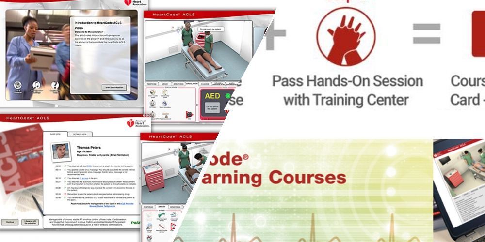 HeartCode online & BLS for HealthCare professionals face to face course